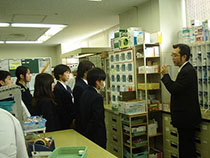 中学生『職業インタビュー』
