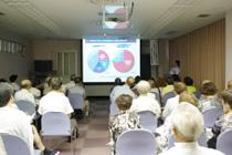 7月の健康懇話会を開催いたしました