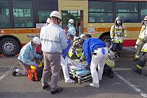テロ災害対策訓練実施